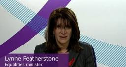 Lynne Featherstone talks about HIV for World AIDS Day