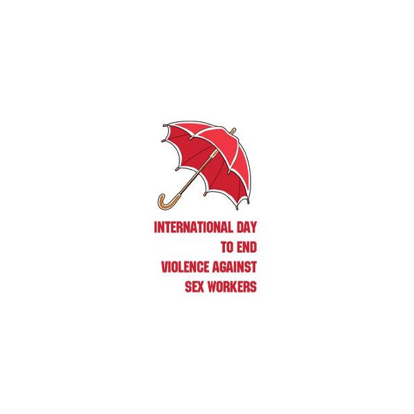 Logo for the International Day to End Violence against Sex Workers