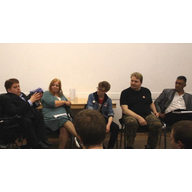 Diversity Panel at Liberal Youth Conference 2012, Manchester (Gregg Judge; ?; Ab Brightman; Dave Page; Ruwan Uduwerage-Perera)