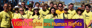 Brighton and Hove Lib Dems at Pride 2017