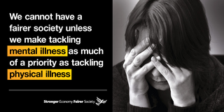 Lib Dem mental health poster from 2014