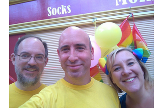 Lib Dems at Stockport Pride 2017