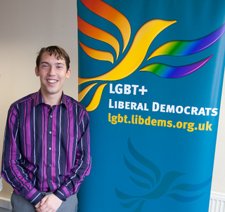 Adrian Trett at the LGBT+ Lib Dems Summer Strategy Conference 2012