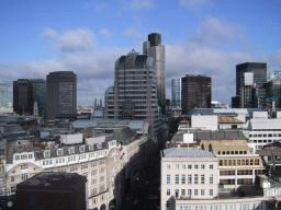 City of London, including Lloyds of London and the Natwest Tower.