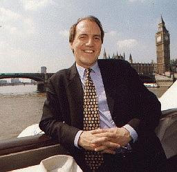 Simon Hughes MP for Southwark in Westminster