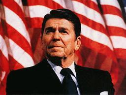 Ronald Reagan (Ex USA President).
