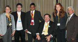 Speakers at the Diversity Reception at Lib Dem Conference