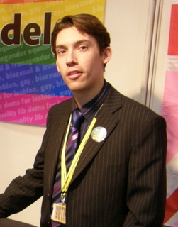 Adrian Trett, chair of Lib Dems for LGBT Action