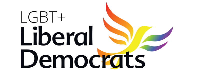 Banner Logo for LGBT+ Liberal Democrats