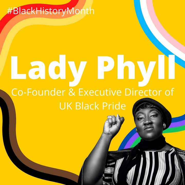 Lady Phyll, Co-Founder and Executive Director of Black Pride (Photo of Lady Phyll by Kofi Paintsil)