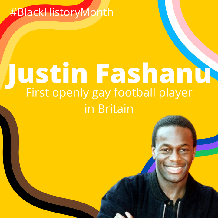 Justin Fashanu, the first openly gay football player in Britain